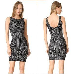 Herve Leger Jazmin Bodycon Dress Size M